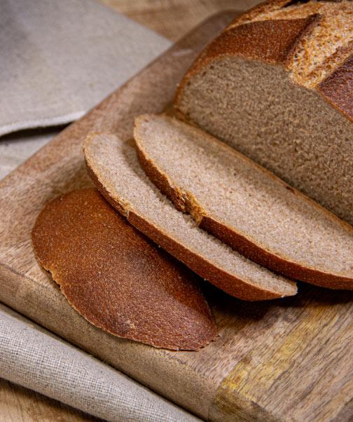Boulangerie réalisée avec de la farine française